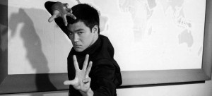 Bruce Lee - http://lifecoachesblog.com/2006/09/26/what-you-didnt-know-about-bruce-lees-kick-ass-success-2/